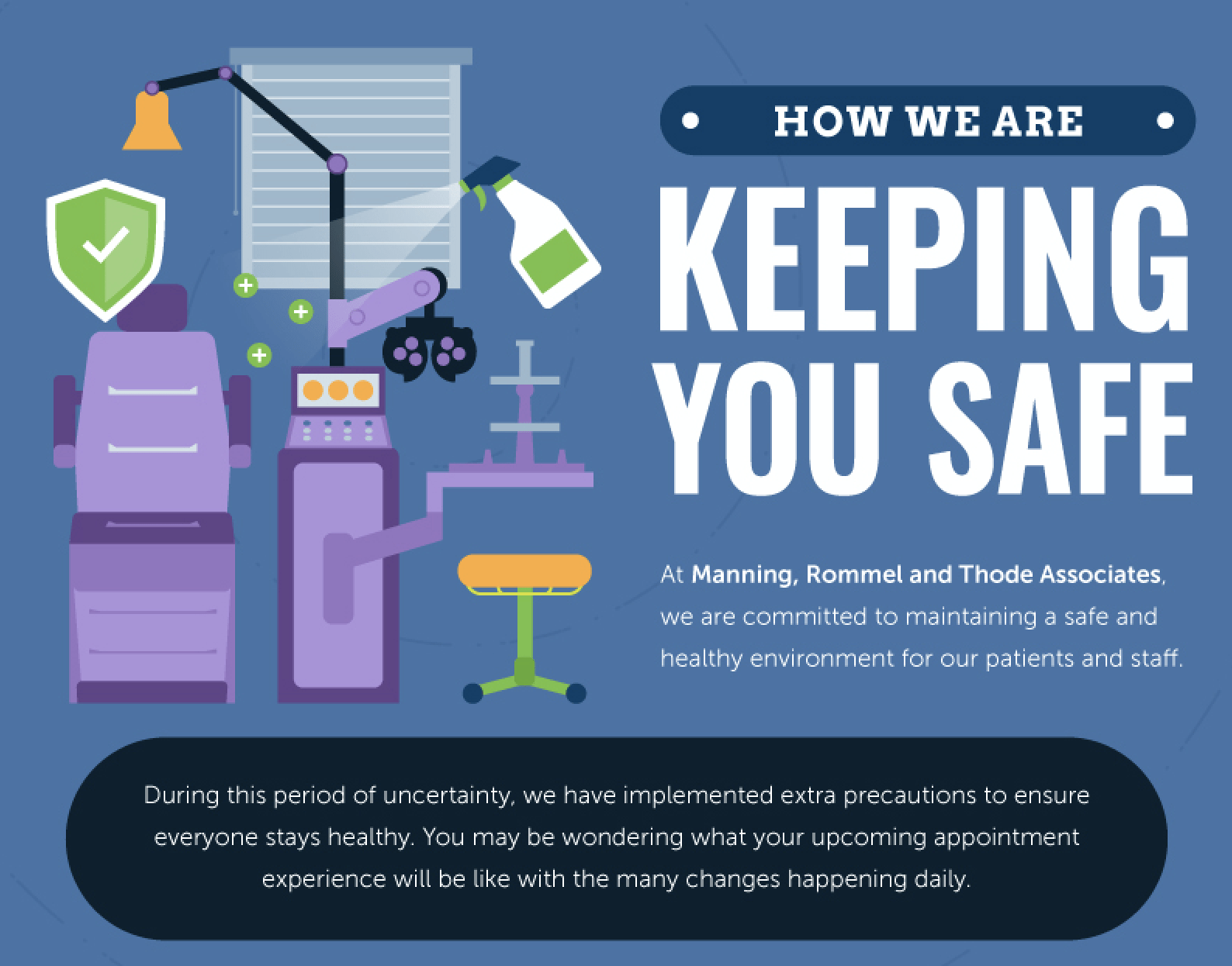 How We Are Keeping You Safe [infographic]